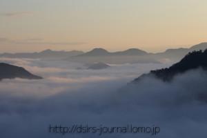 早朝の雲海