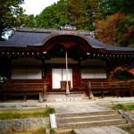 弘川寺の紅葉