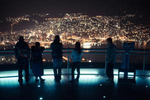 長崎県稲佐山の夜景