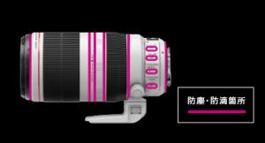 EF100-400 II 防塵防滴